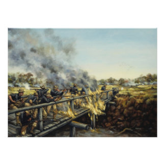 Soldiers in the Sun by Donna Neary Print