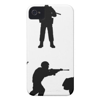 Soldiers iPhone 4 Case