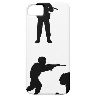 Soldiers iPhone SE/5/5s Case