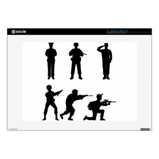 Soldiers Laptop Decal