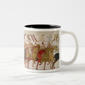 Soldiers leaving Hastings to do battle with Two-Tone Coffee Mug