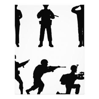 Soldiers Letterhead