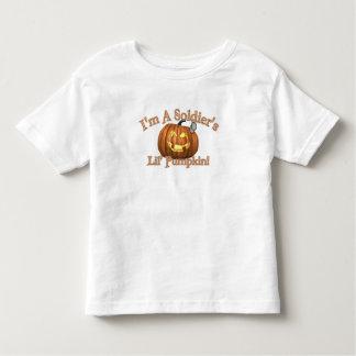 Soldier's Lil' Pumpkin Toddler T-shirt