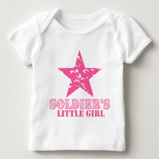 Soldier's Little Girl Baby T-Shirt