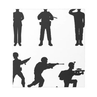 Soldiers Notepad