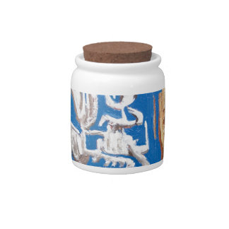 Soldiers of Fortune (surrealism human figures ) Candy Jar