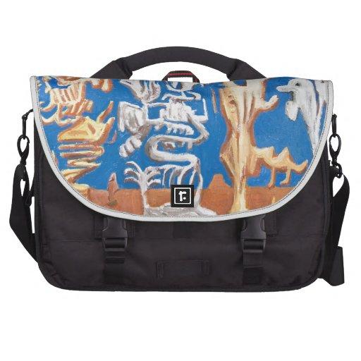 Soldiers of Fortune (surrealism human figures ) Laptop Commuter Bag