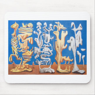 Soldiers of Fortune (surrealism human figures ) Mouse Pad
