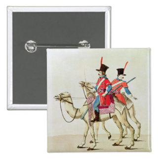 Soldiers of the Dromedary Regiment, 1839 Pinback Button