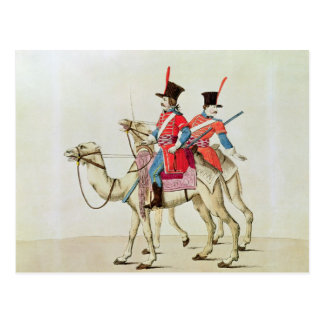 Soldiers of the Dromedary Regiment, 1839 Postcard