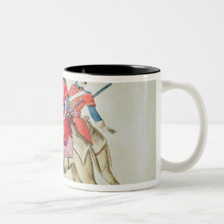 Soldiers of the Dromedary Regiment, 1839 Two-Tone Coffee Mug