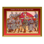 Soldiers of the Great War 1914-1918 1 Postcard