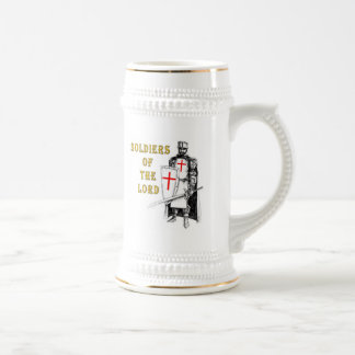 SOLDIERS OF THE LORD BEER STEIN