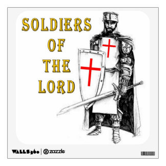 SOLDIERS of the LORD Wall Sticker
