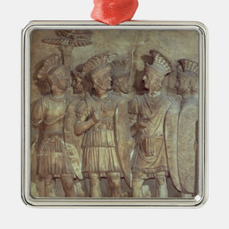 Soldiers of the Praetorian Guard, relief Metal Ornament