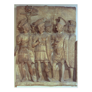 Soldiers of the Praetorian Guard, relief Postcard