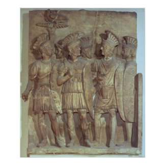 Soldiers of the Praetorian Guard, relief Print