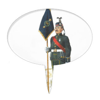 Soldiers of the Queen,Drum Major, Royal Scots Cake Toppers