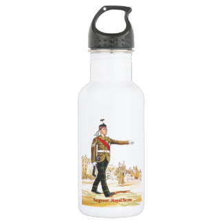 Soldiers of the Queen, Sergeant, Royal Scots Stainless Steel Water Bottle