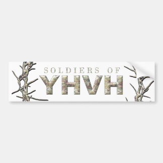 SOLDIERS OF YHVH BUMPER STICKER