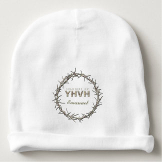 SOLDIERS OF YHVH Custom Text Baby Beanie