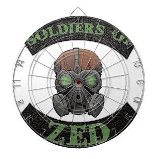 Soldiers of ZED Logo Dart Board