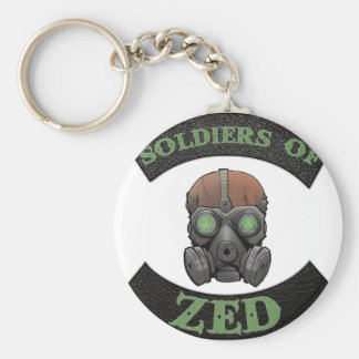Soldiers of ZED Logo Keychain