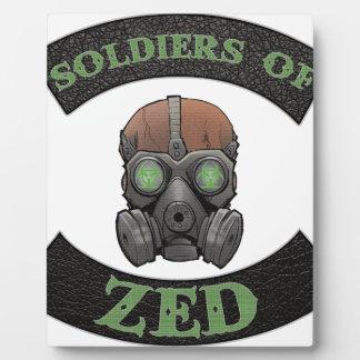 Soldiers of ZED Logo Plaque