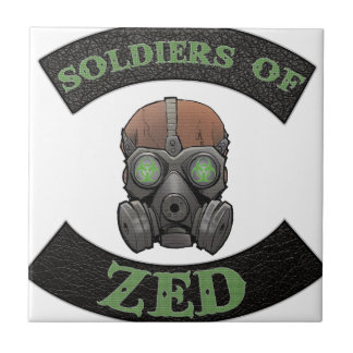 Soldiers of ZED Logo Tile