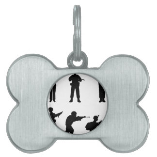 Soldiers Pet ID Tag