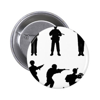 Soldiers Pinback Button
