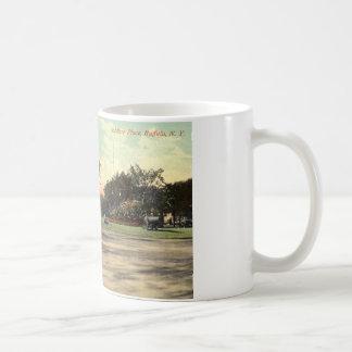 Soldiers Place, Buffalo NY 1908 Vintage Coffee Mug