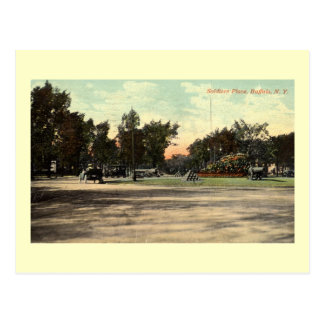Soldiers Place, Buffalo NY 1908 Vintage Postcard