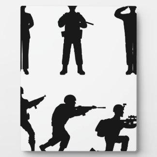 Soldiers Plaque