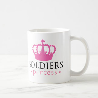 Soldiers Princess Coffee Mug
