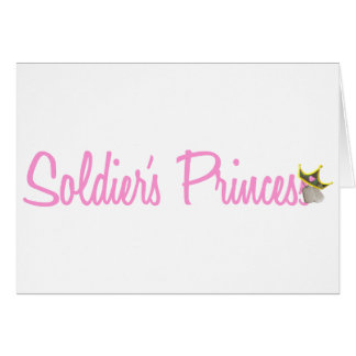 Soldier's Princess Greeting Card