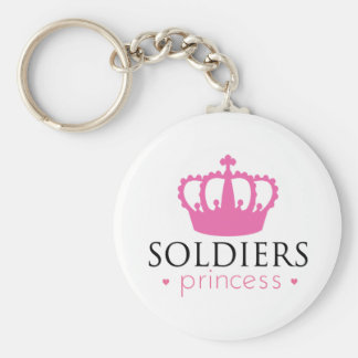 Soldiers Princess Keychain