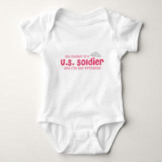 Soldier's Princess (Mother) Baby Bodysuit