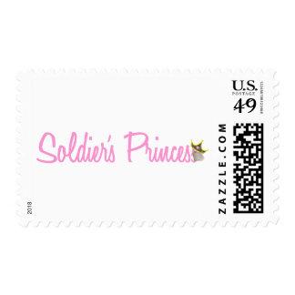 Soldier's Princess Stamp