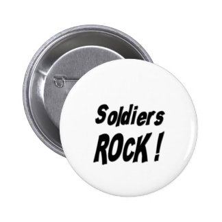 Soldiers Rock! Button