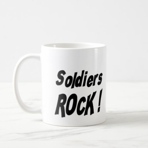 Soldiers Rock! Mug