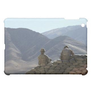 soldiers run communications equipment iPad mini case