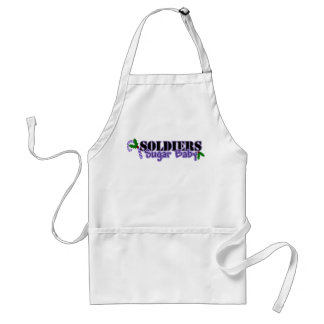 Soldiers Sugar Baby Adult Apron