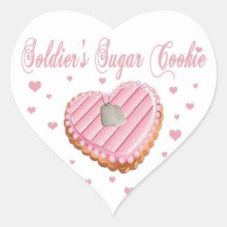 Soldier's Sugar Cookie Stickers