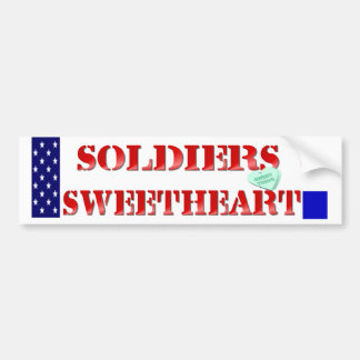 Soldiers Sweetheart Bumper Stickers