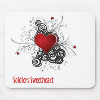 Soldiers Sweetheart Mouse Pad