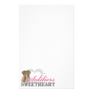 Soldiers Sweetheart Stationery