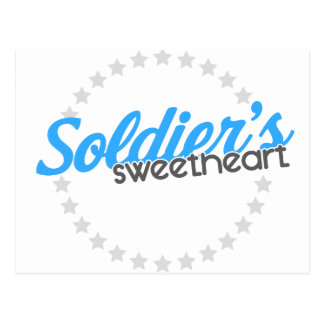 Soldier's Sweethearts Postcard