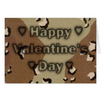 Soldiers Valentine card