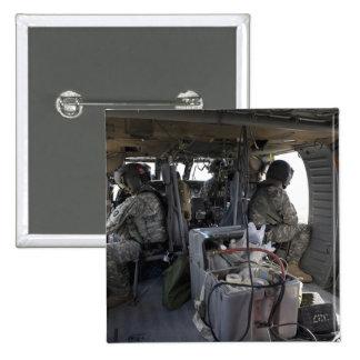 soldiers watch for hazards button